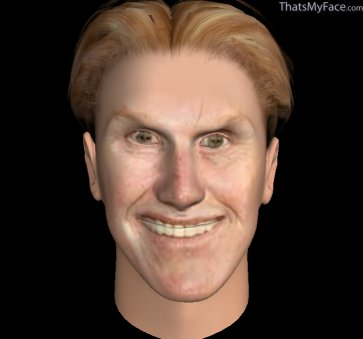 Thumbnail of Gary Busey as Caricature