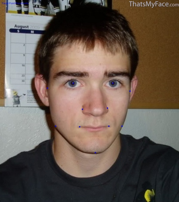 runner guy 3d face thatsmyface