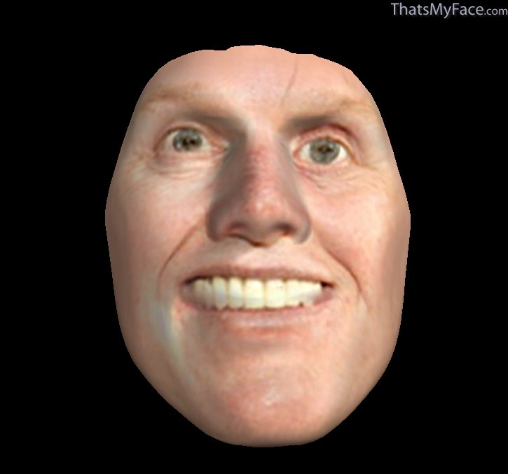 Gary Busey 3D Face ThatsMyFace - Barbie Hairstyles