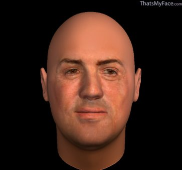 Thumbnail of Sylvester Stallone as 3D Face
