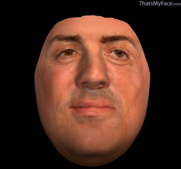 Thumbnail of Sylvester Stallone as Facemask