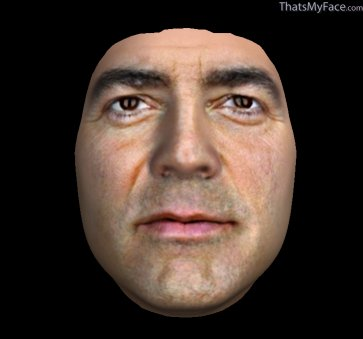 Thumbnail of George Clooney as Beautified