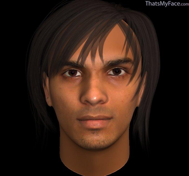 3d Rahul Logo Thumbnail of Rahul as 3d Face