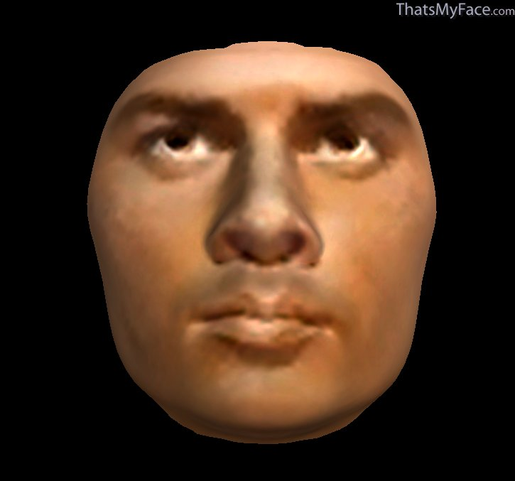 Yul Brynner 3D Face | ThatsMyFace